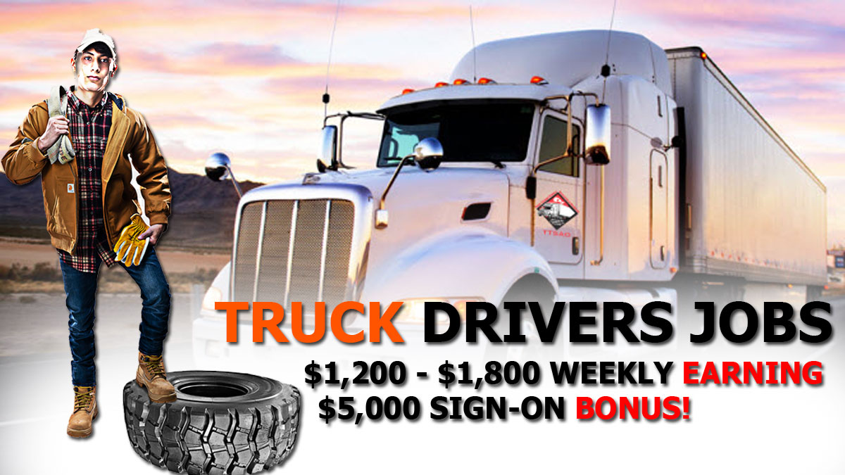 CDL Driver Jobs CDL Truck Driver Jobs Near Me in Chicago IL USA